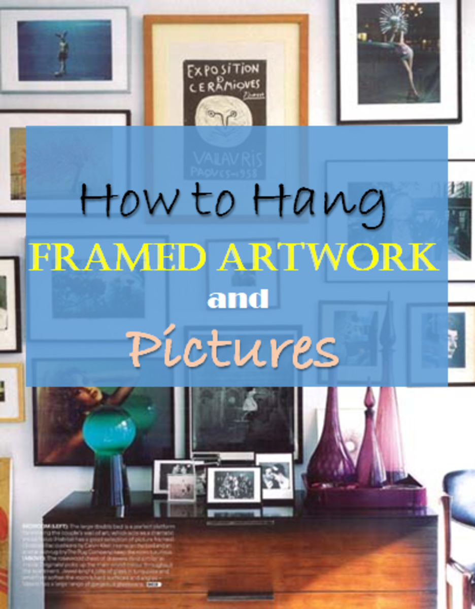 How To Hang Framed Artwork And Pictures On Walls Dengarden Home And Garden