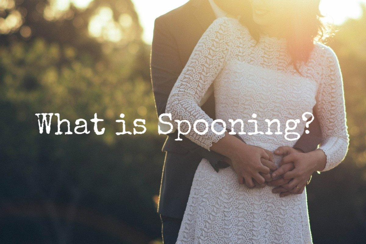 What does the term spooning mean