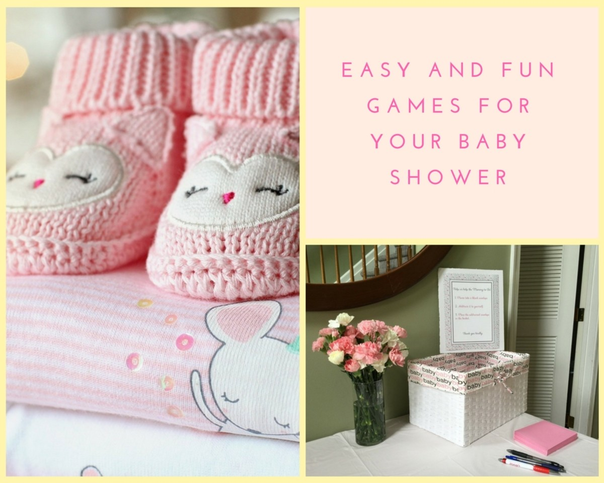 6 Fun and Easy Baby Shower Games