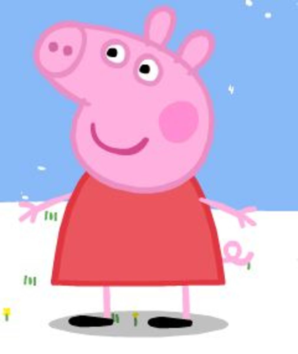Peppa Pig Drawing Tutorial