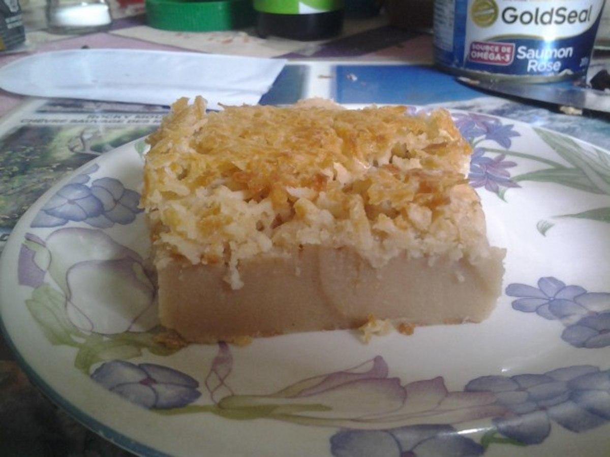 Super Easy Coconut Cake Recipe