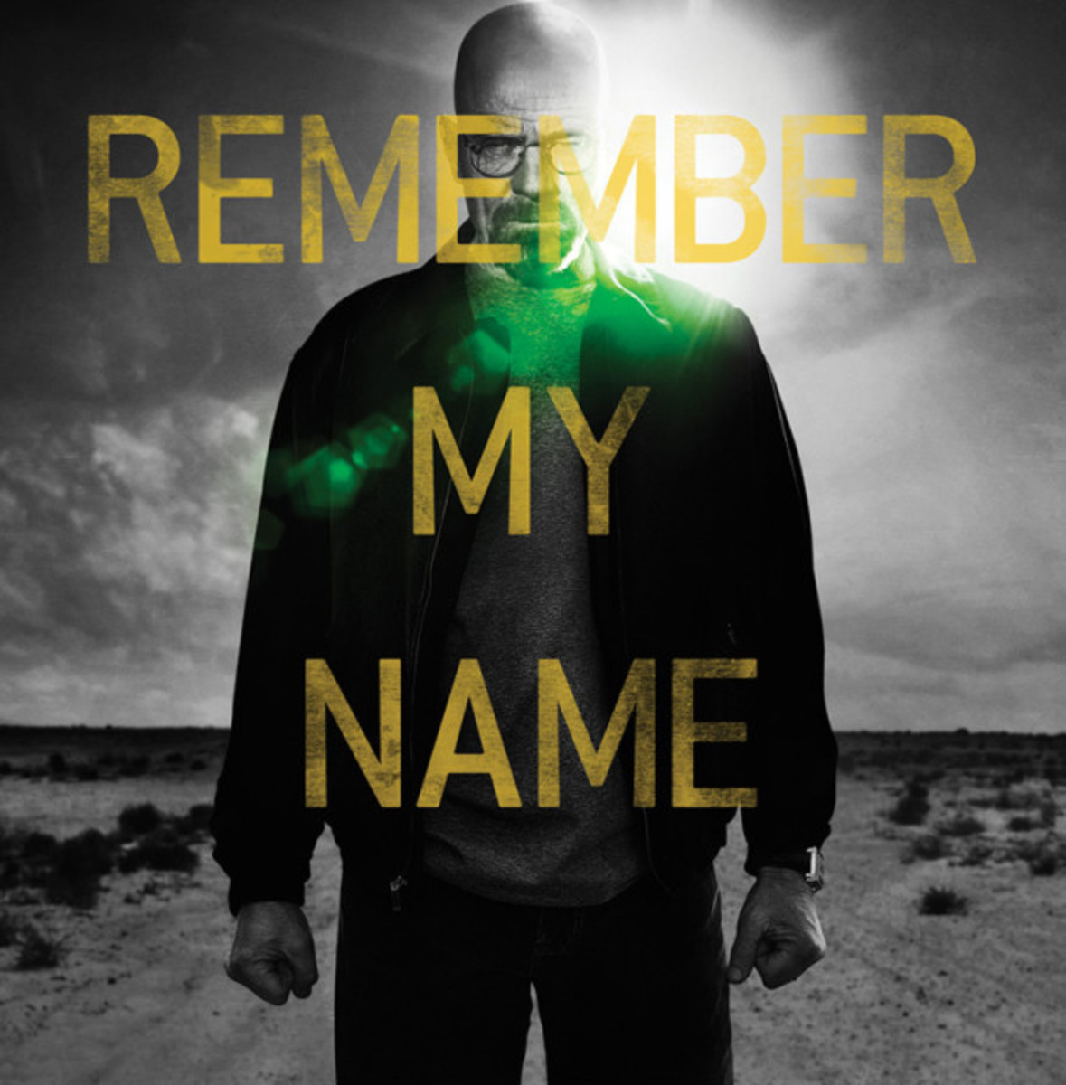 """Walter White, the infamous """"Heisenberg"""""""