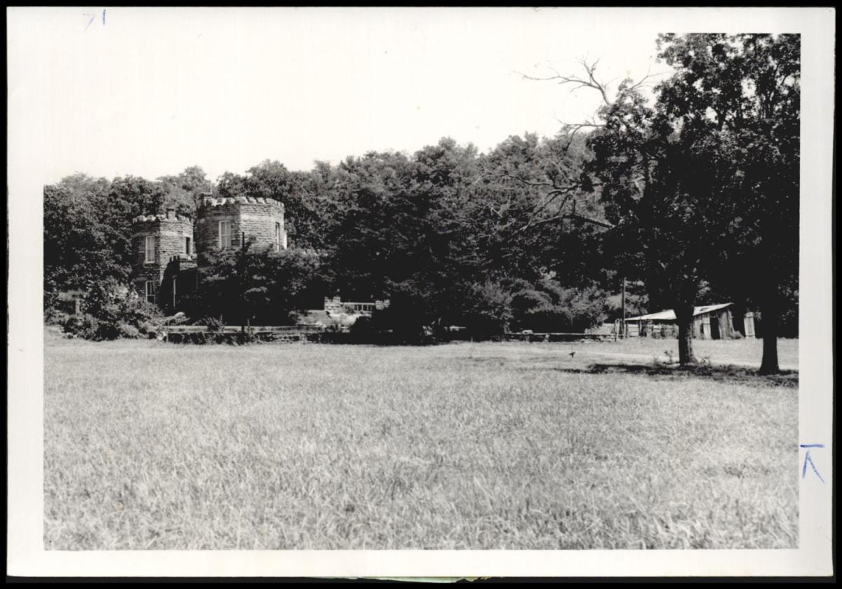Cameron castle and grounds, 1959