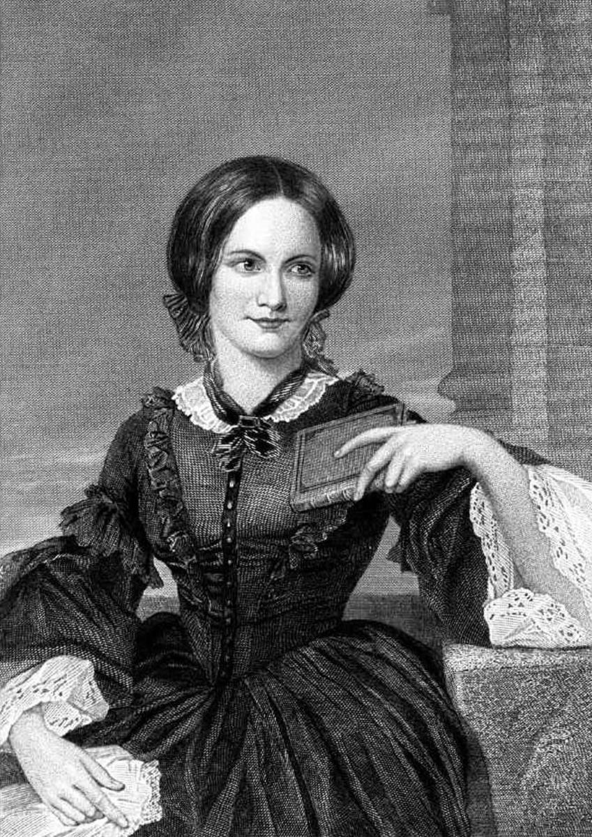 An 1873 portrait of Charlotte Bronte by Duyckinick.