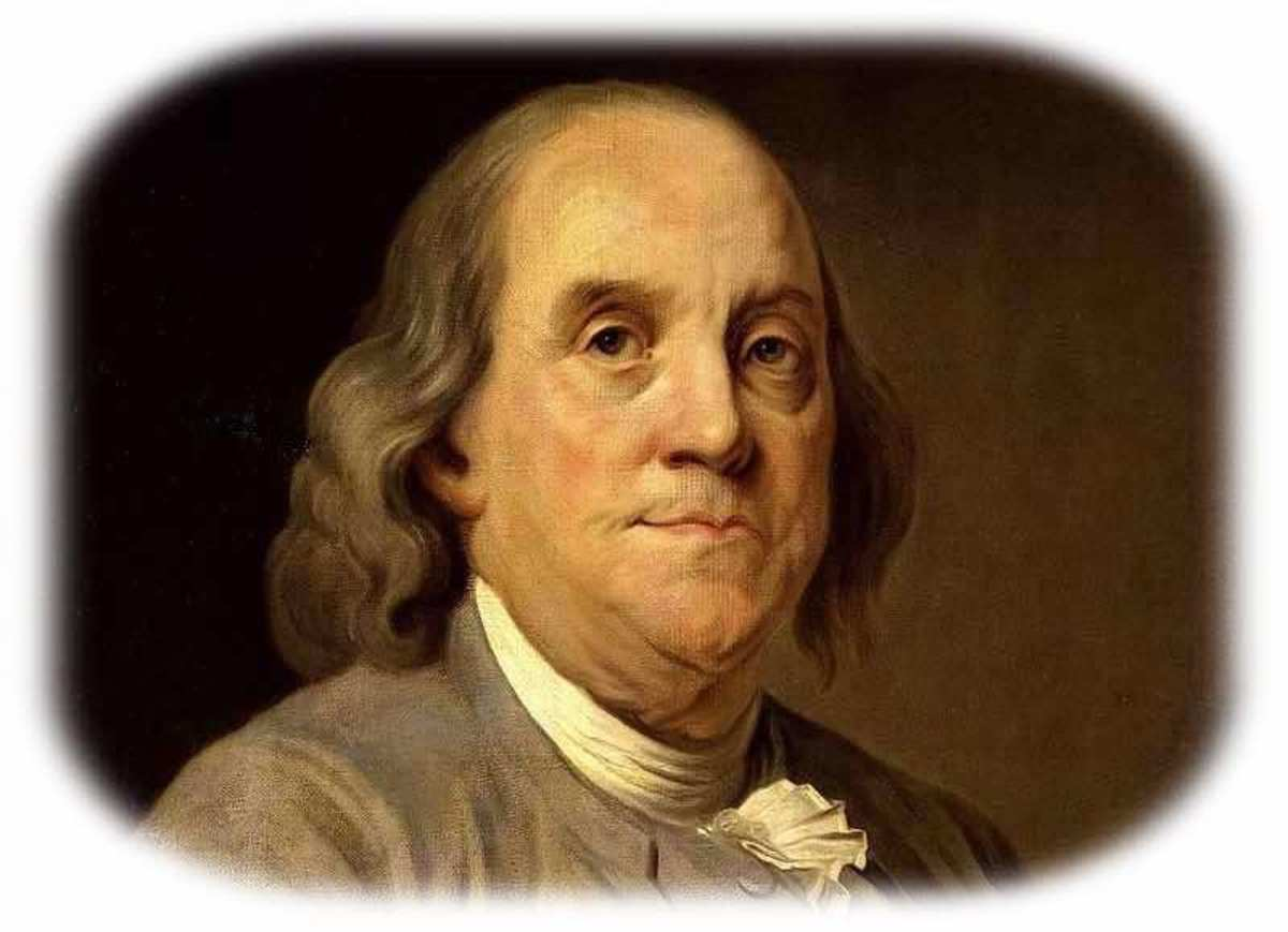 Benjamin Franklin (Born Jan 17, 1706)