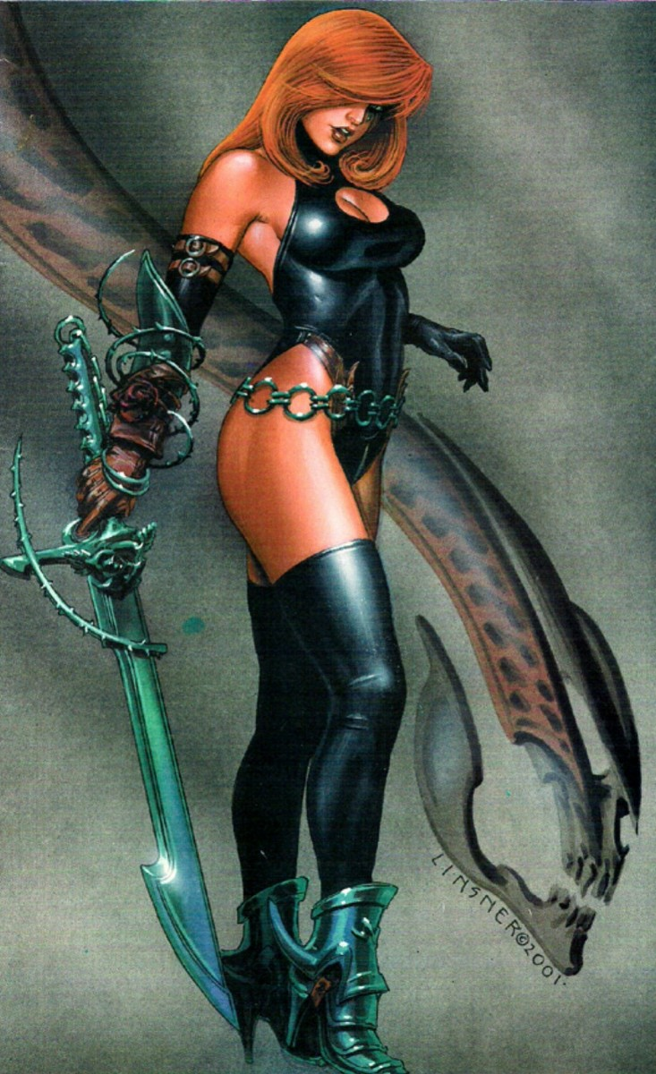 More Beautiful Comic Book Women (With Pictures)