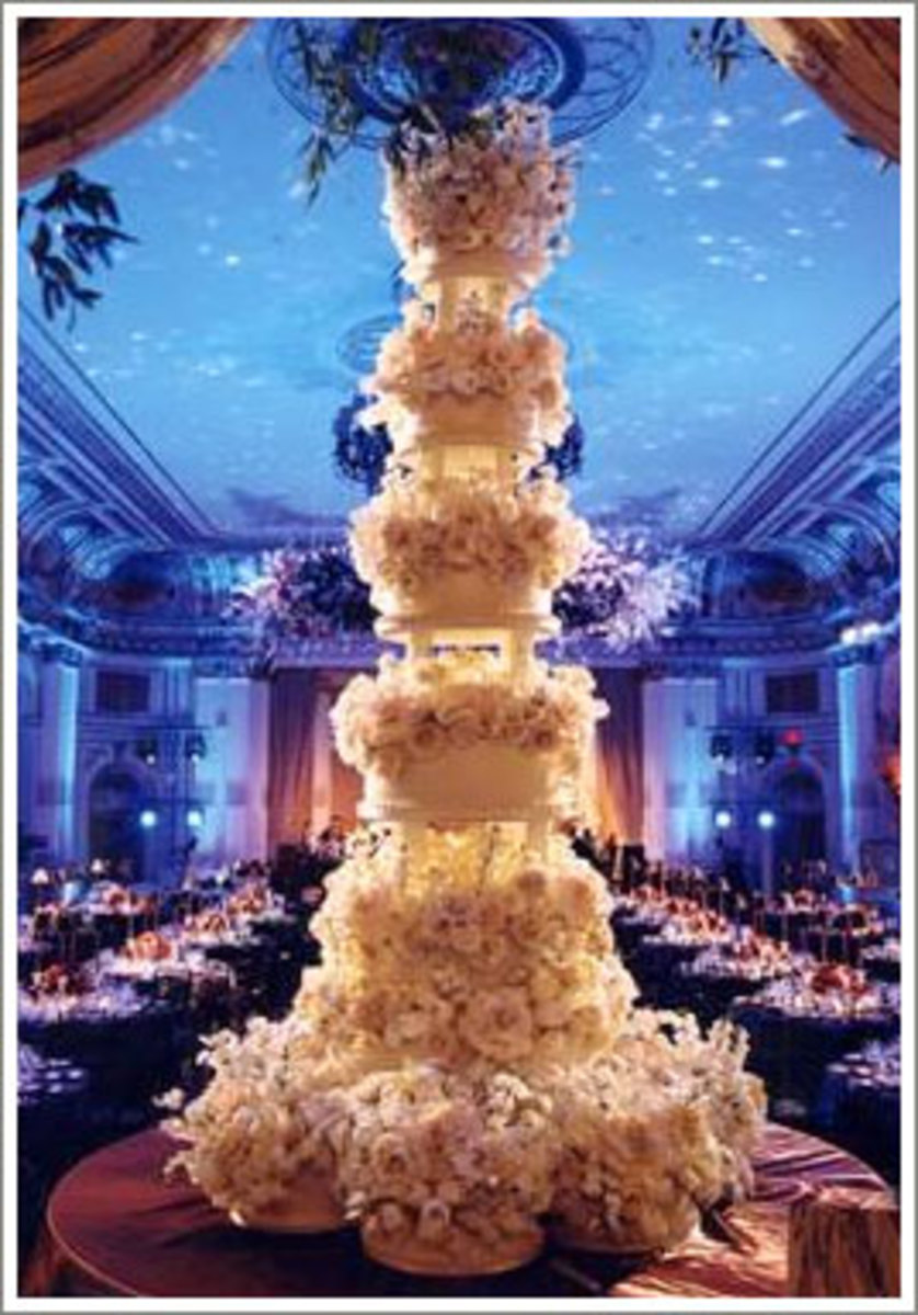 Wedding Cakes - Traditional to Contemporary