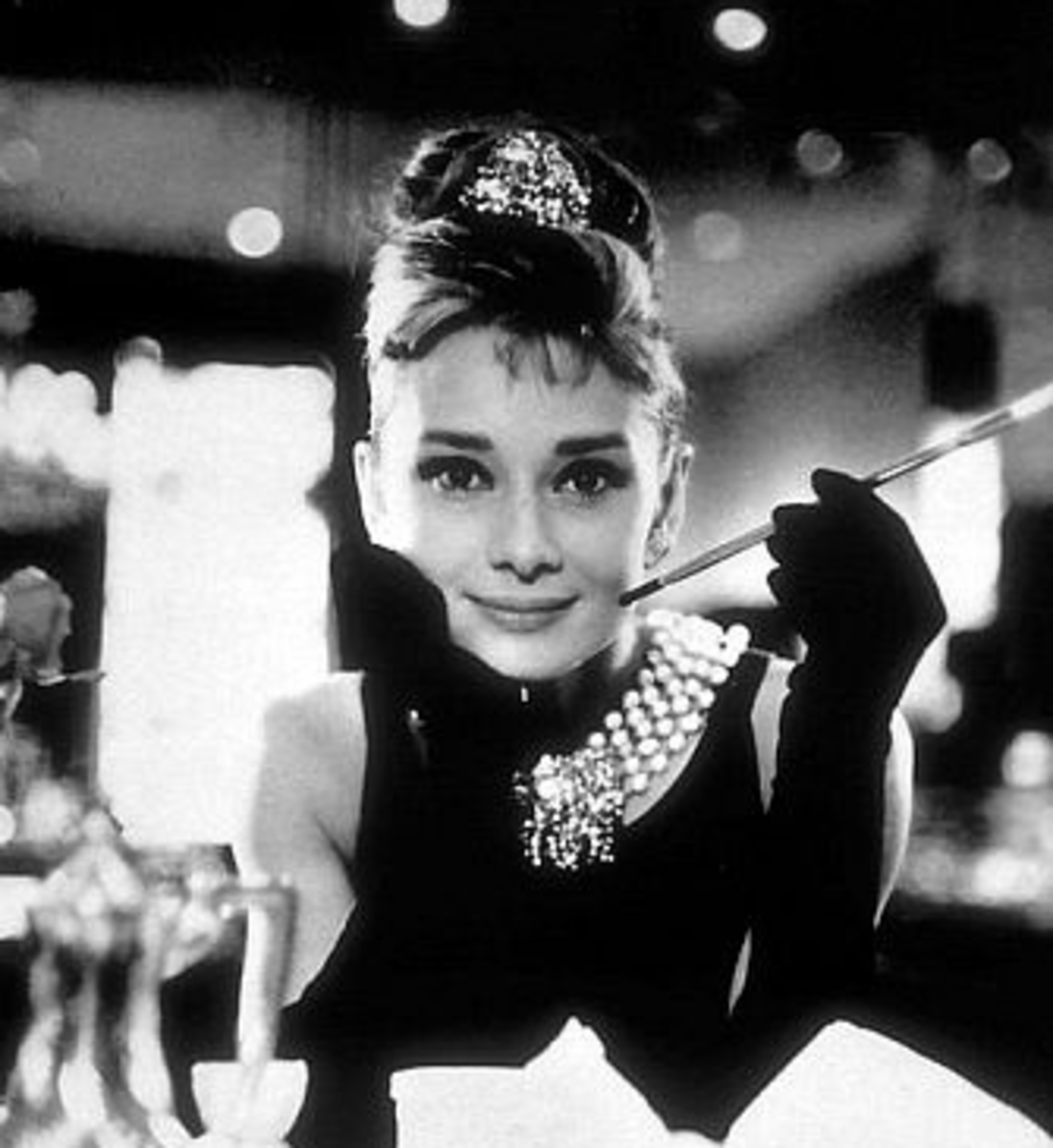 Audrey Hepburn in her most iconic role  Holly Golightly in  quot Breakfast    Iconic Fashion Images