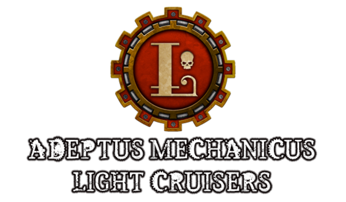 """Battlefleet Gothic: Armada II"" - Adeptus Mechanicus Light Cruisers [Advanced Ship Guide]"