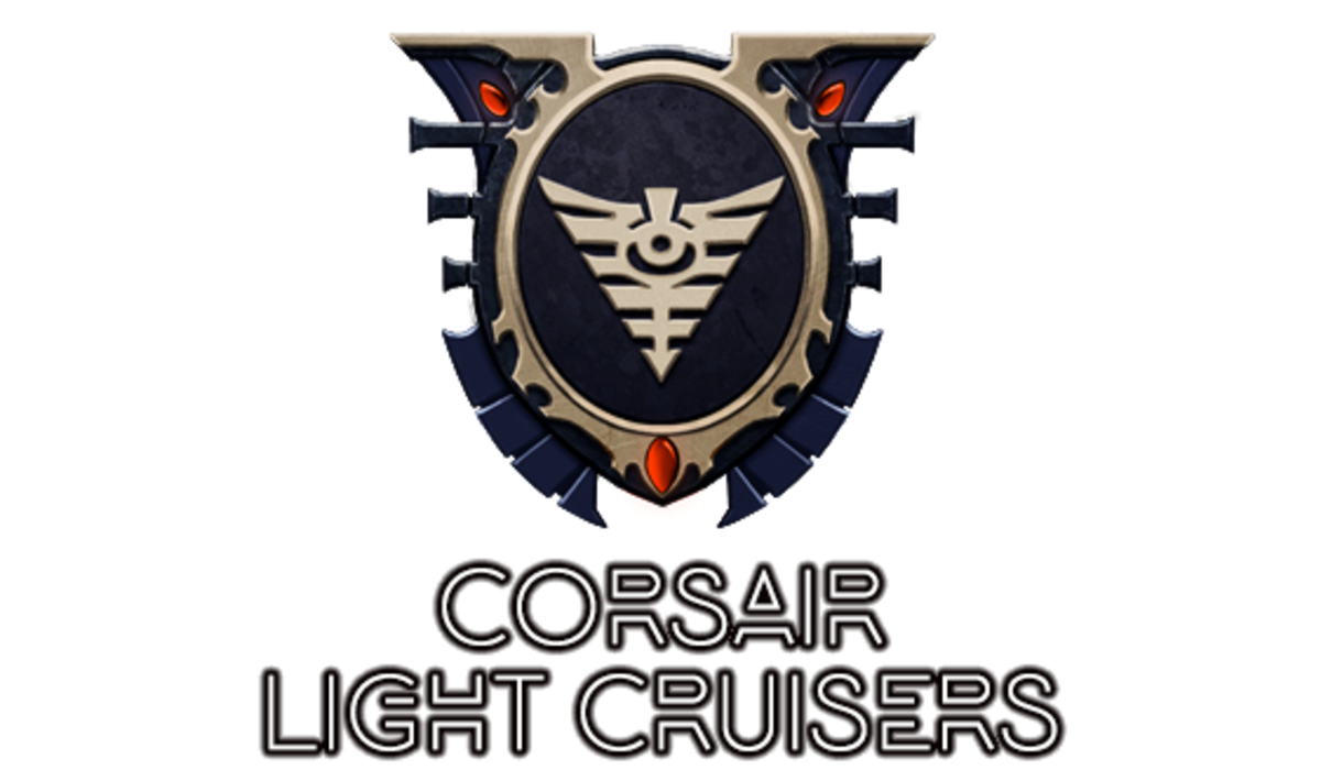 """Battlefleet Gothic: Armada II"" - Aeldari Corsair Light Cruisers [Advanced Ship Guide]"