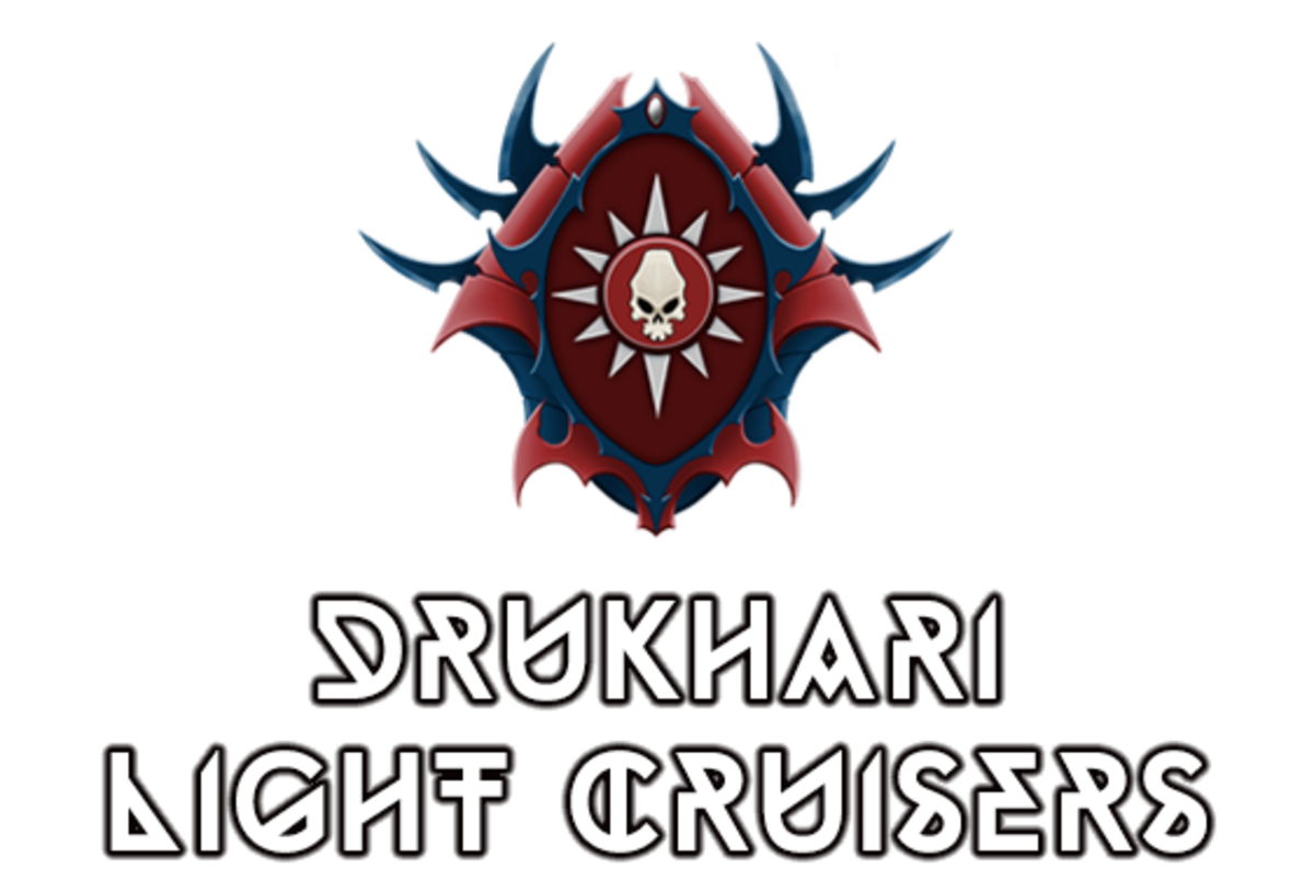 """Battlefleet Gothic: Armada II"" - Drukhari Raider Light Cruisers (Dark Eldar) [Advanced Ship Guide]"