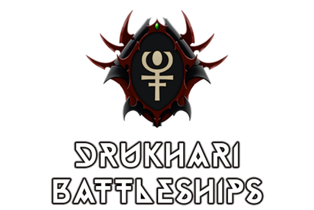 """Battlefleet Gothic: Armada II"" - Drukhari Raider Battleships (Dark Eldar) [Advanced Ship Guide]"