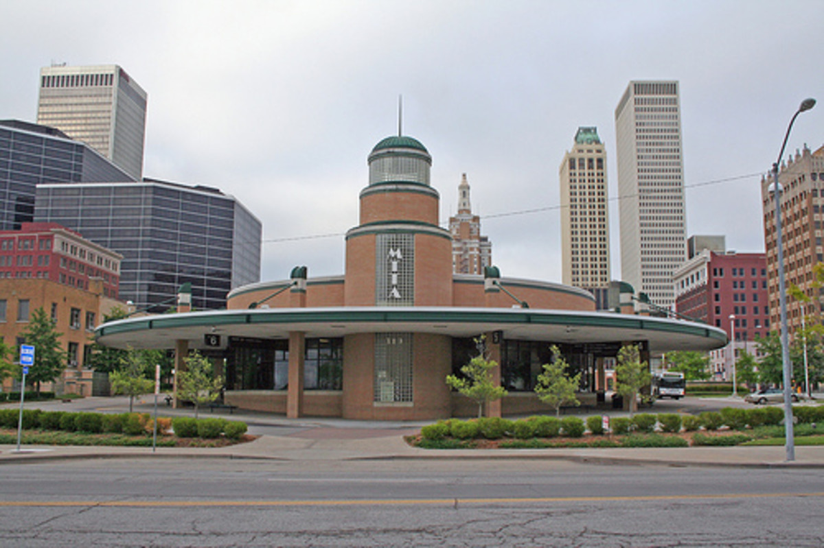 Tulsa's Art Deco History and Locations to Visit