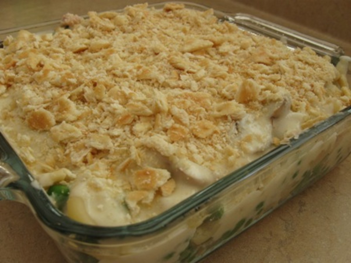 Homemade Tuna Noodle Casserole Recipe