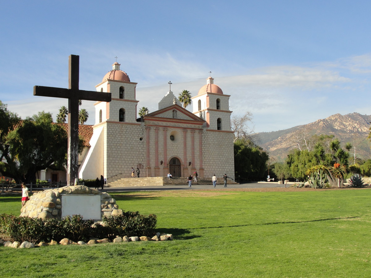 Missions of California - Santa Barbara Mission