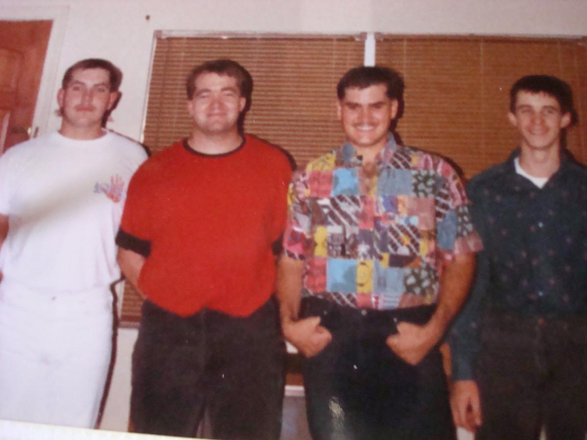 My Nephews: Paul, John-John, Baby John and Jamie