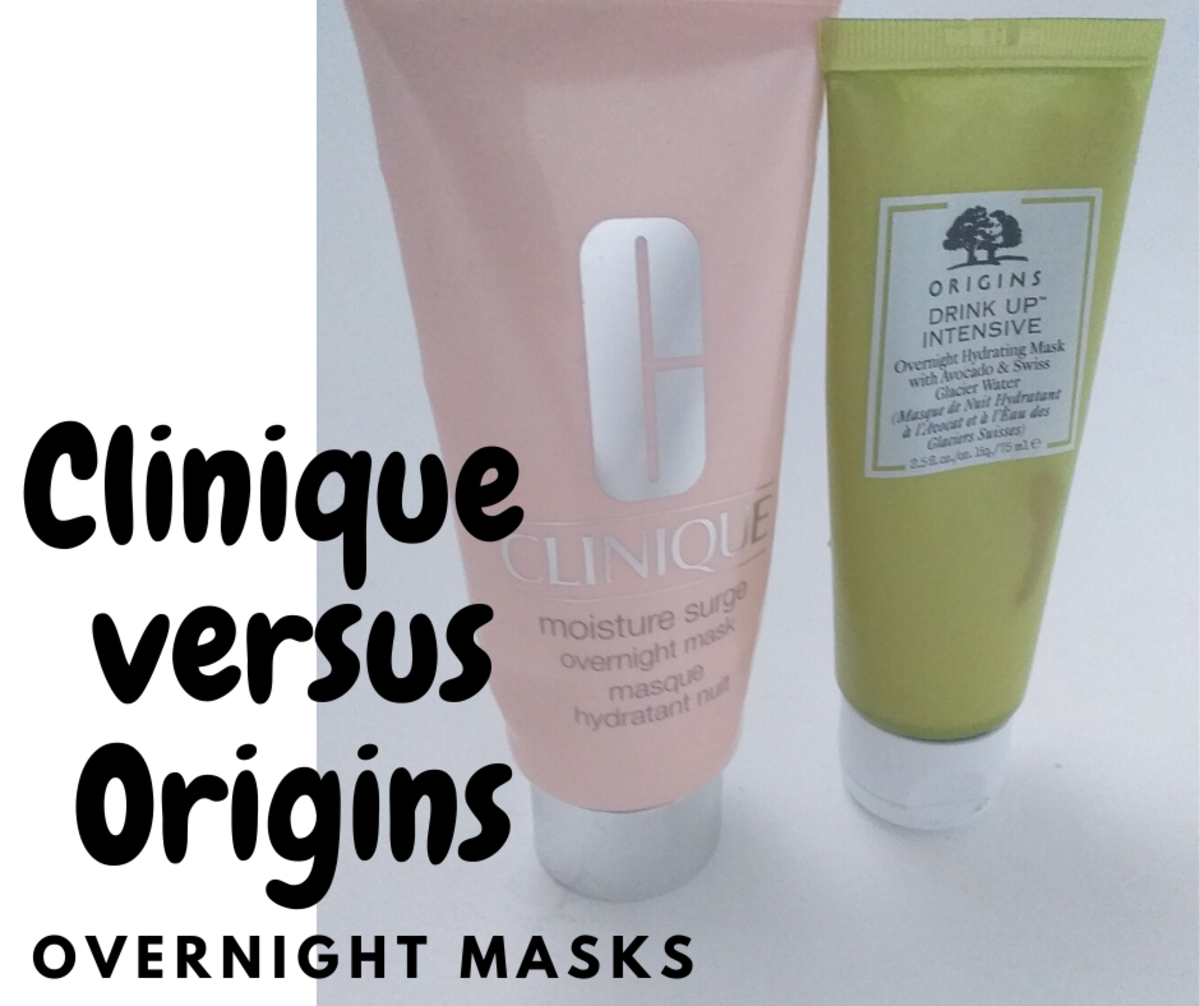 Clinique Moisture Surge Overnight Face Mask vs. Origins Overnight Hydrating Mask