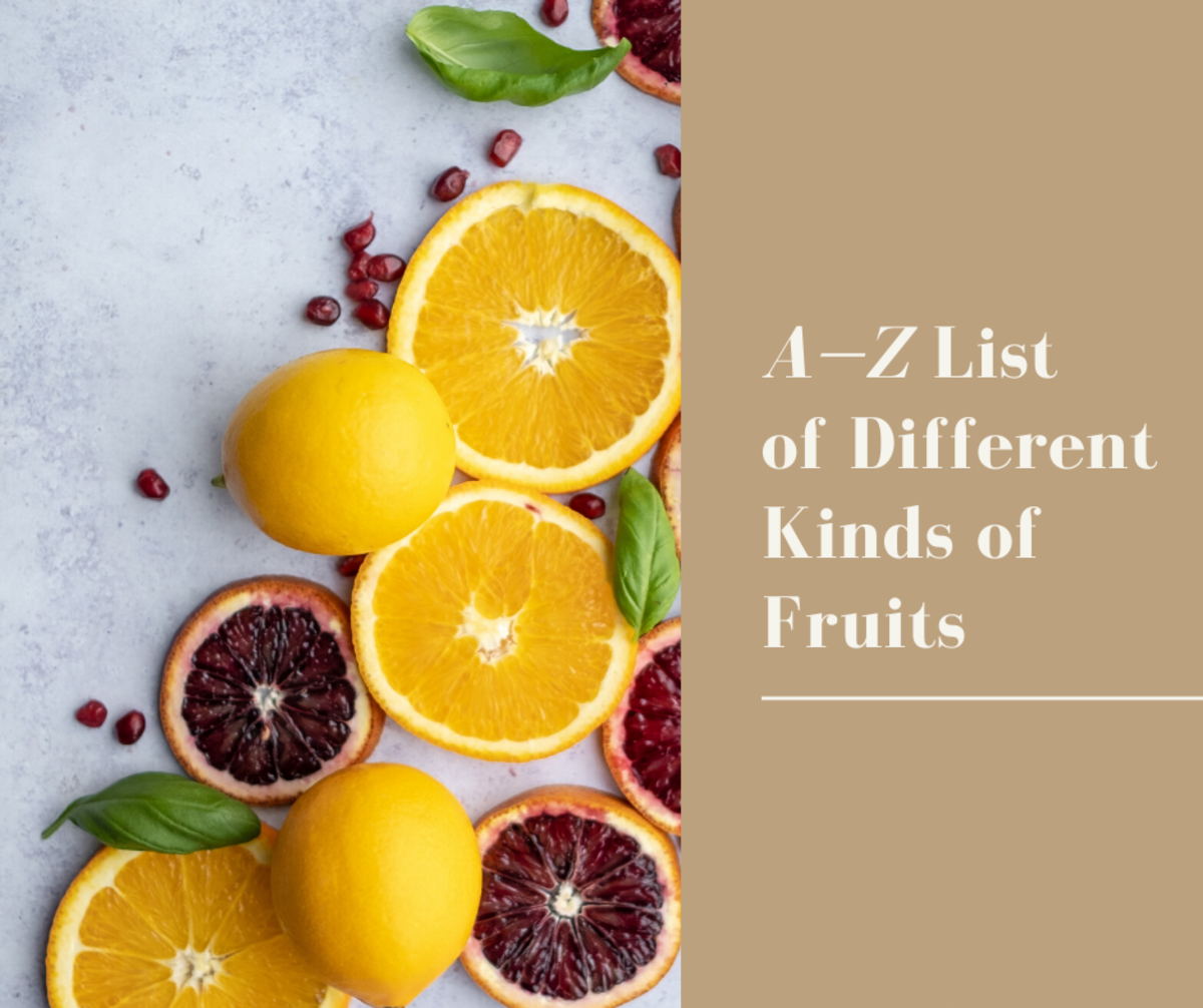List of Different Kinds of Fruits