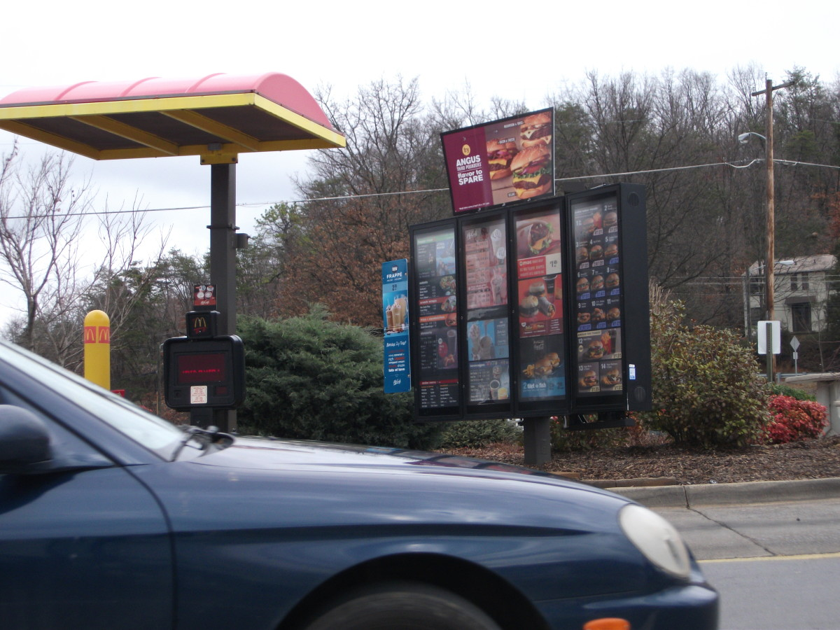 Drive-thru dining: Eating vegetarian from fast food restaurants can be a challenge.