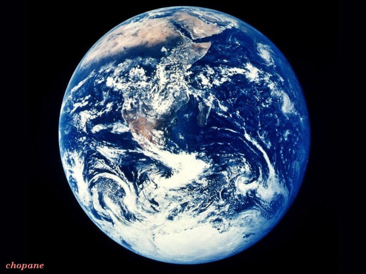 Save this beautiful Earth!