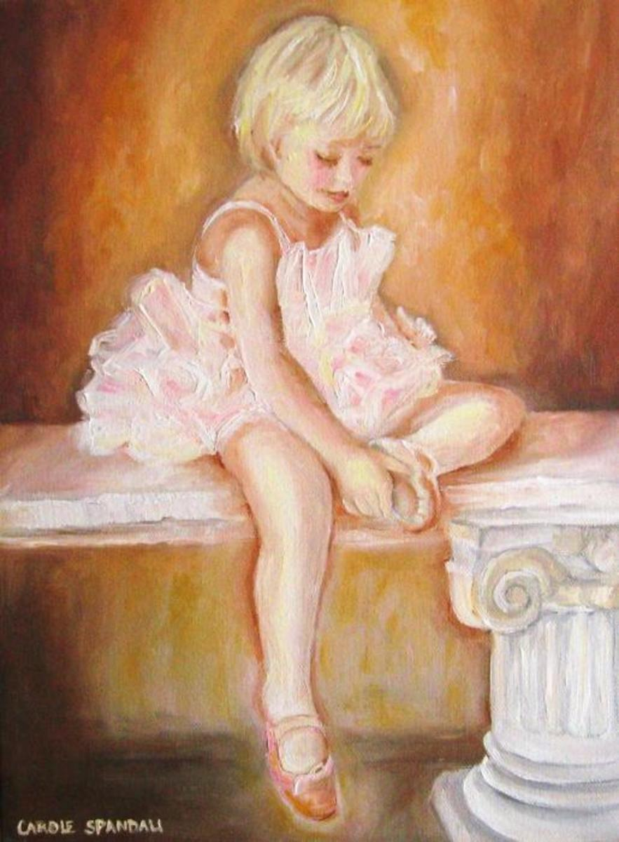 Little Ballerina (used with permission by artist Carole Spandau)