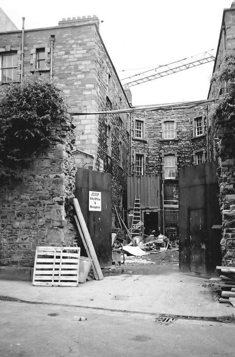 The Debtors Prison in Newgate, Dublin Ireland