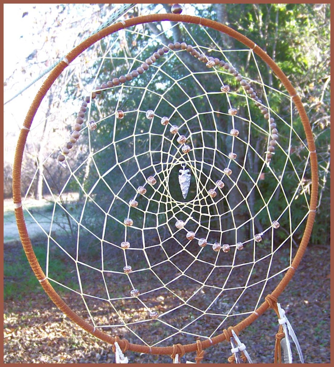 How to make a native american dream catcher for How to create a dreamcatcher