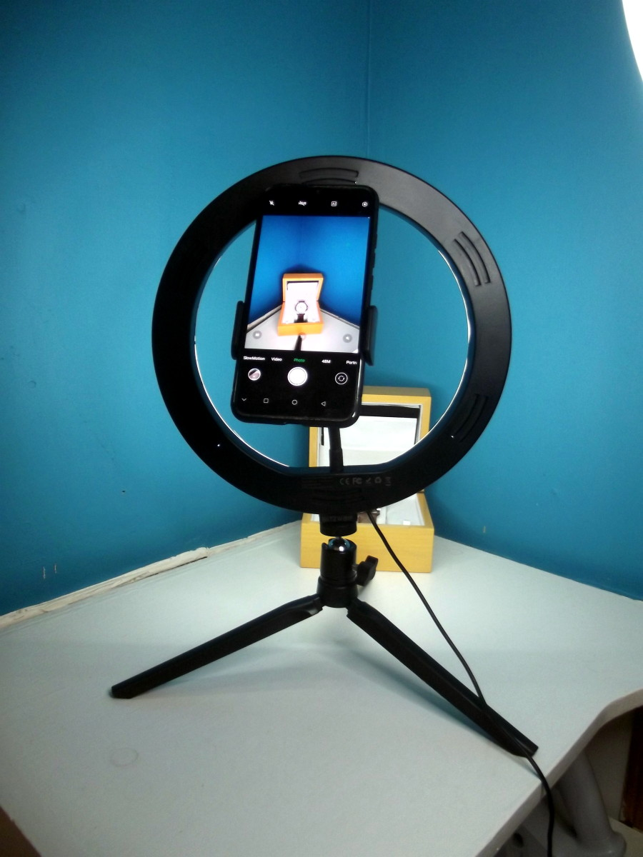 Review of the BlitzWolf Ring Light