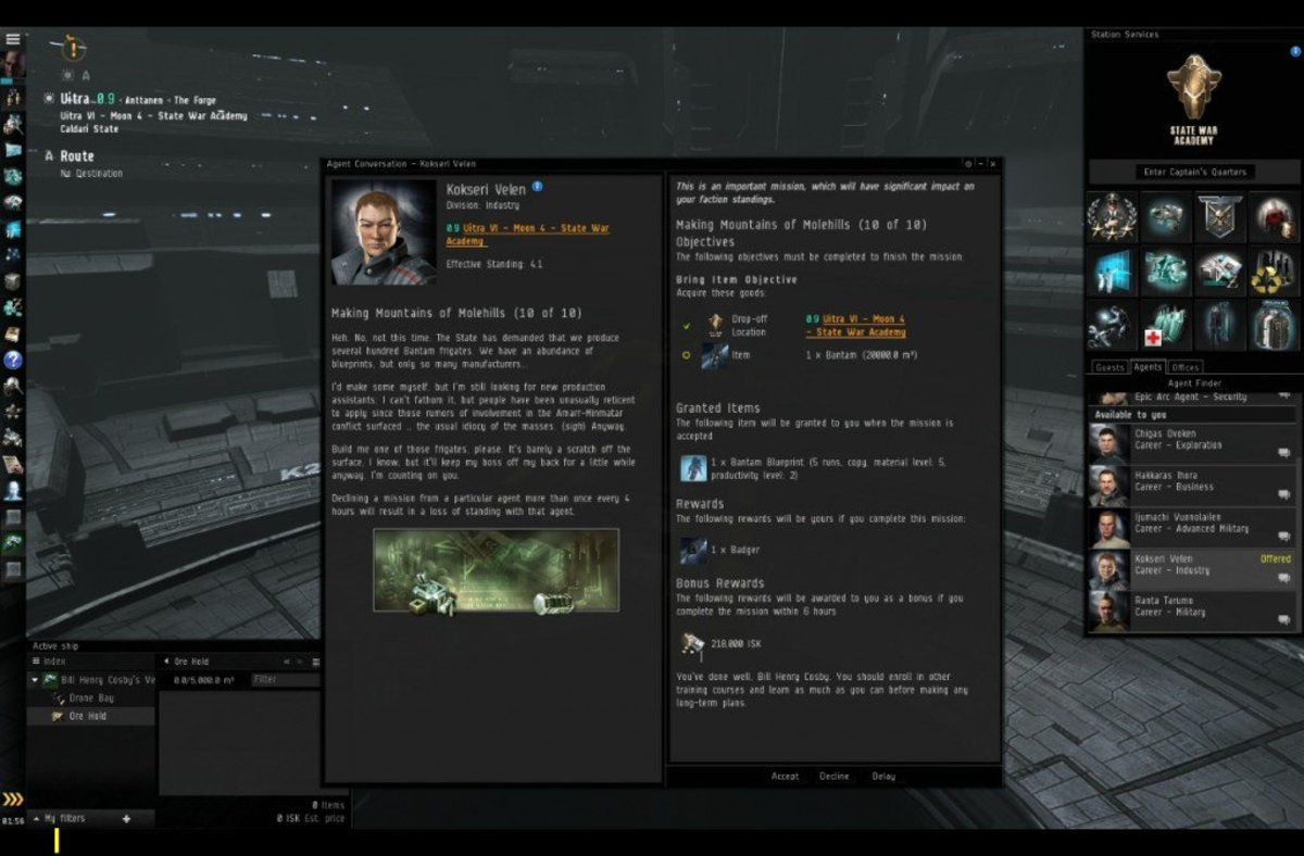 """EVE Online"" Industrial Arc Guide: Making Mountains of Molehills (10 of 10)"