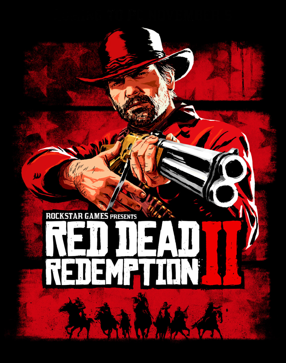 """Red Dead Redemption 2"" Cover Art"