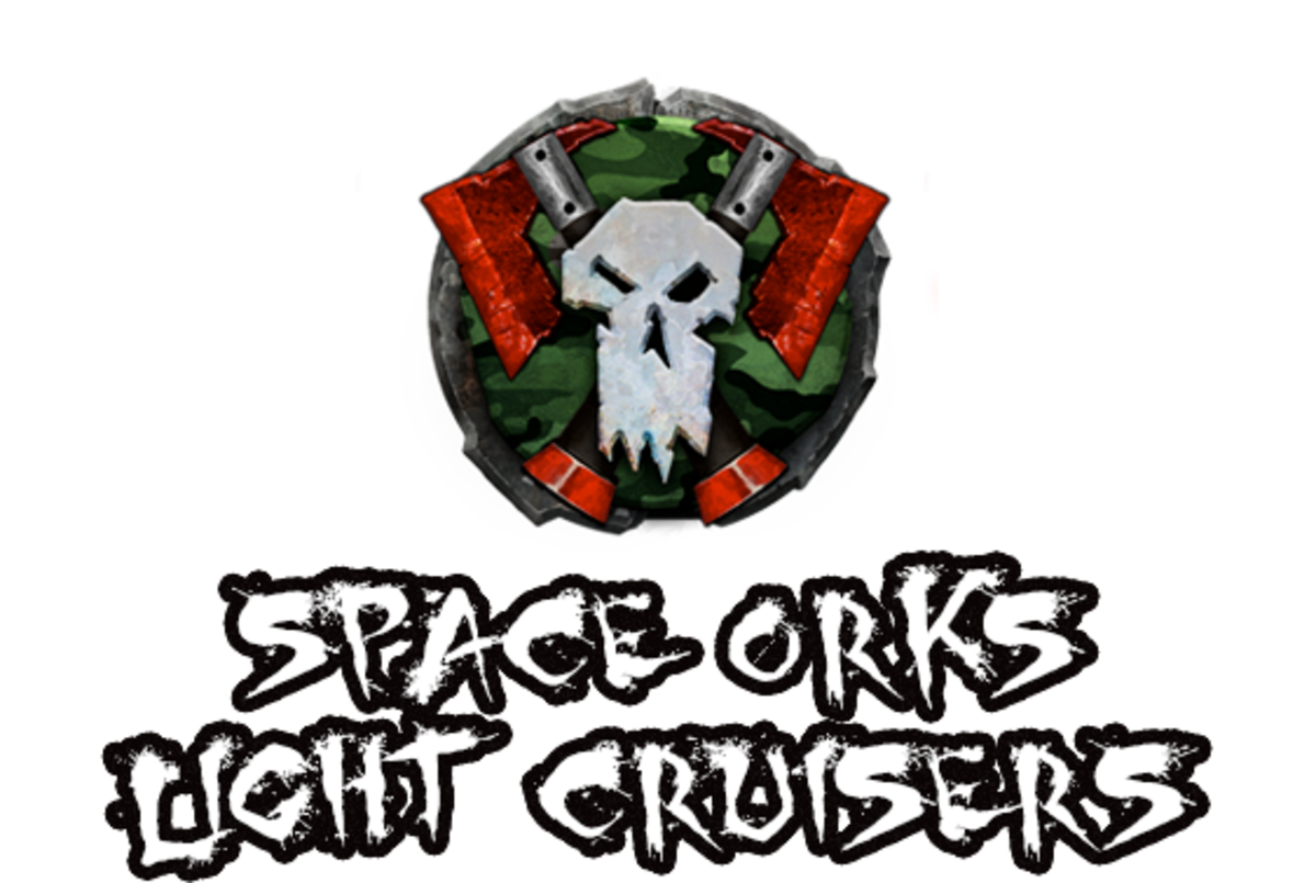 """Battlefleet Gothic: Armada II"" - Space Orks Light Cruisers [Advanced Ship Guide]"