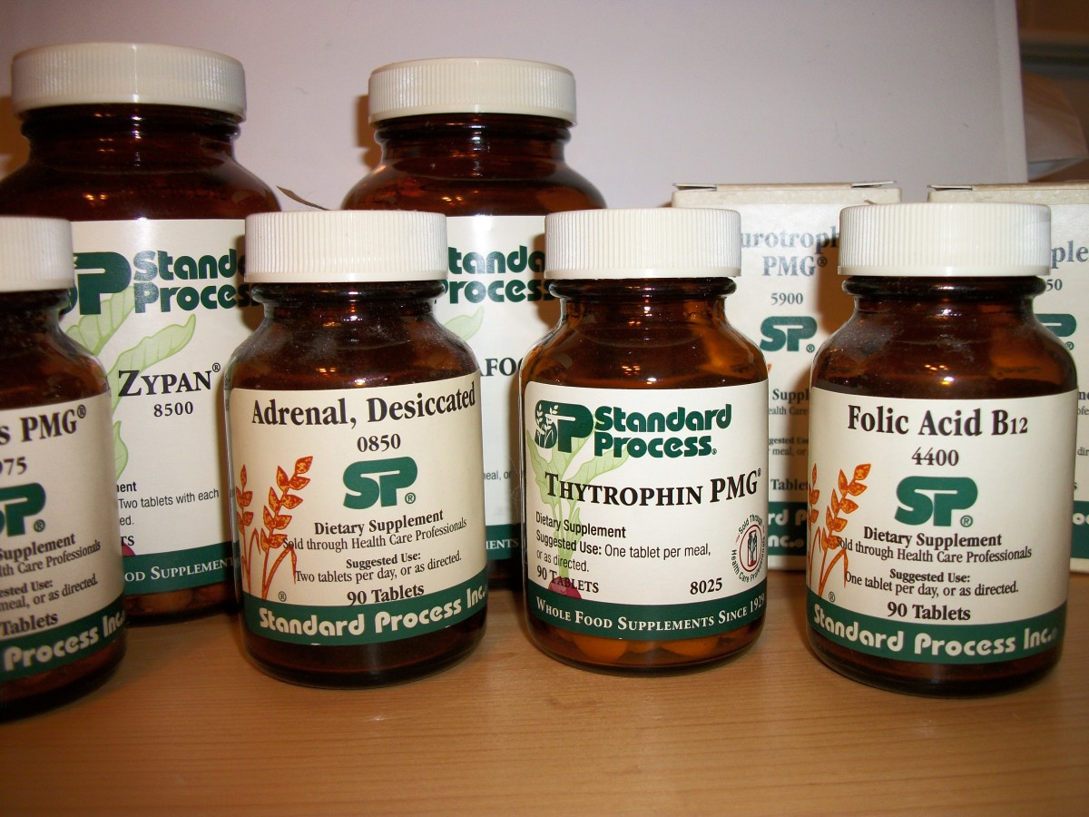 Standard Process Whole Food Supplements and My Experience
