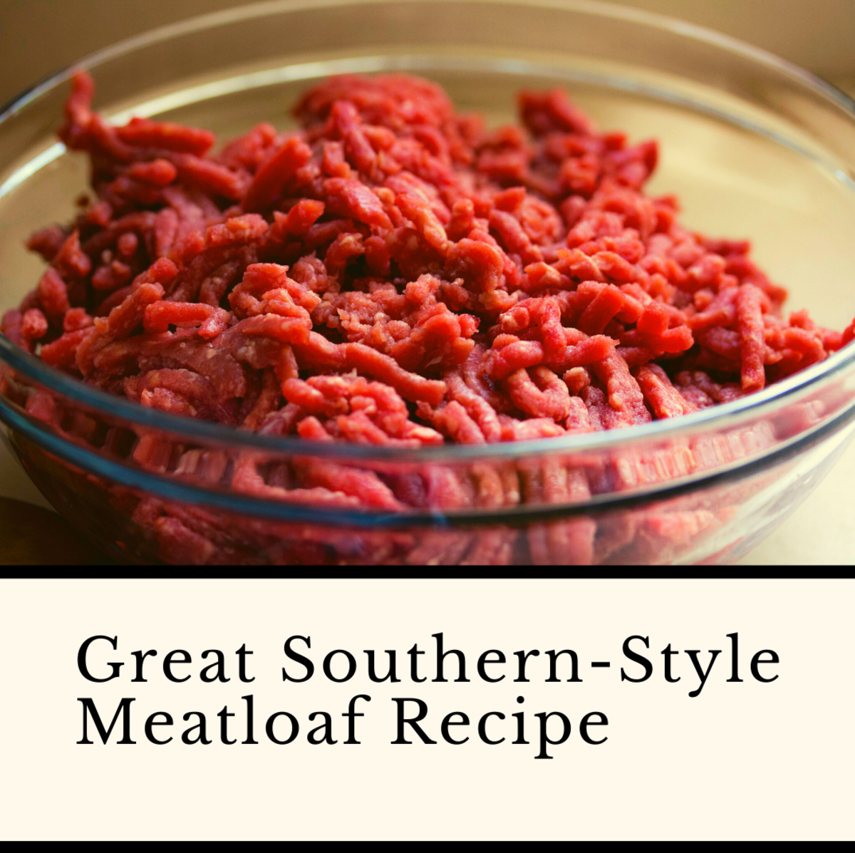 Southern-style meatloaf is a truly delicious meal.