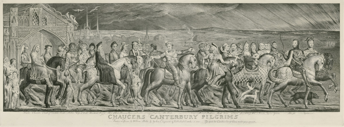 Canterbury Tales is set on a pilgrimage of many.