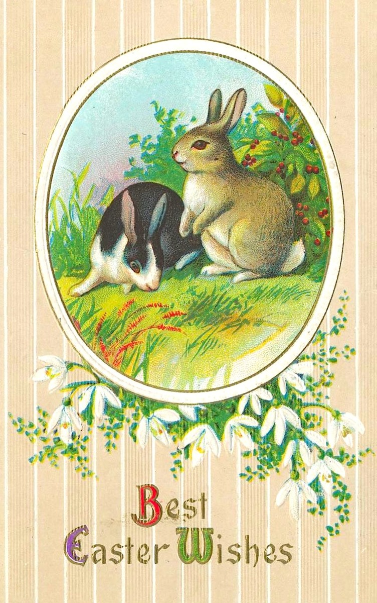 Easter Postcard Circa the Early 20th Century
