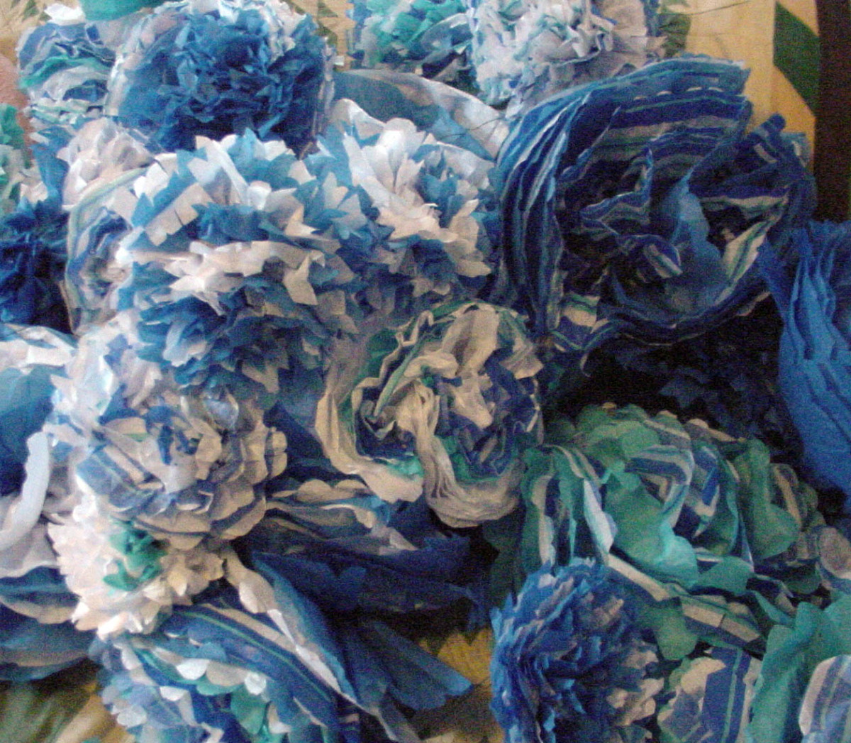 How to Make Tissue Paper Flowers - A Cheap, Whimsical Party Decoration and Favor