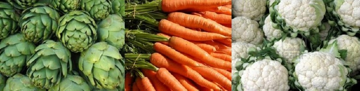 List of Different Kinds of Vegetables (From A to Z)