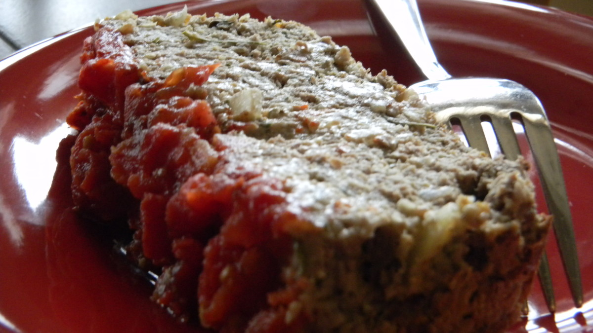 This meatloaf recipe is both high in fiber and delicious.