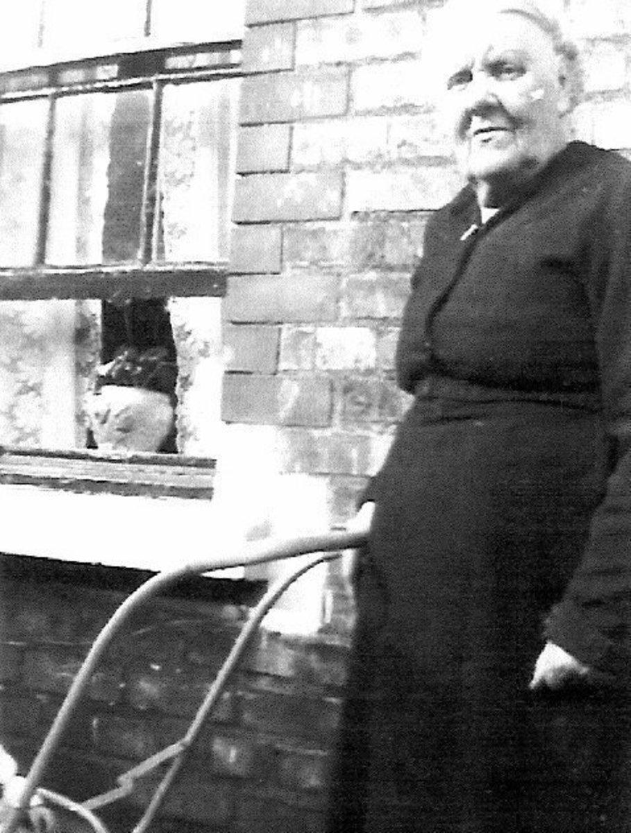 Dora Maguire in Stoneybatter Dublin Ireland