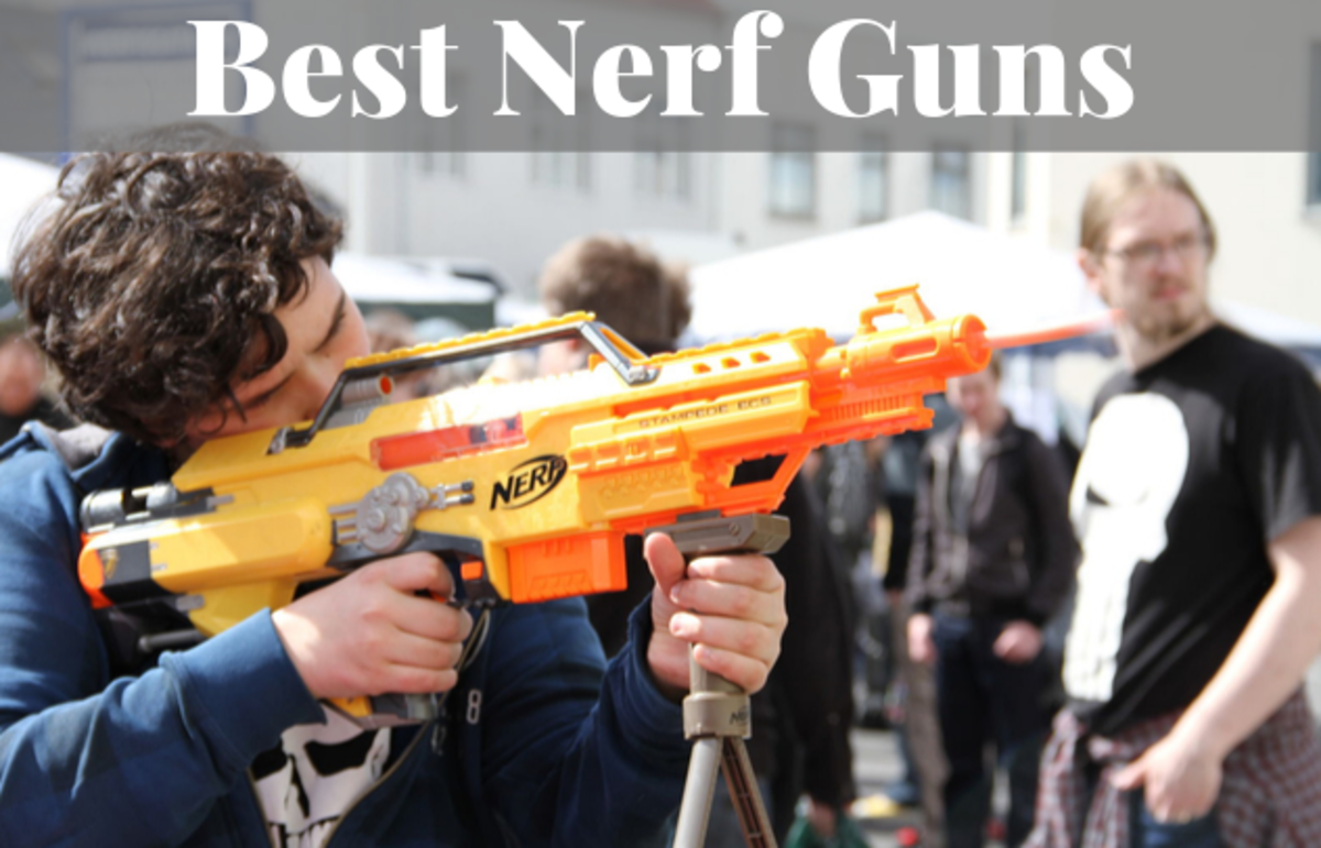 Read on to find out which nerf guns are best.