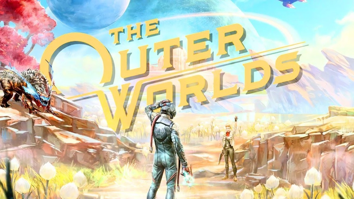 """The Outer Worlds"" Cover Art"
