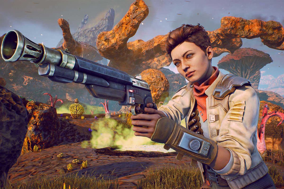 """Ellie from """"The Outer Worlds"""""""