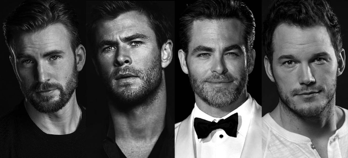 Who's Better? Chris Evans vs. Chris Hemsworth vs. Chris Pine vs. Chris Pratt