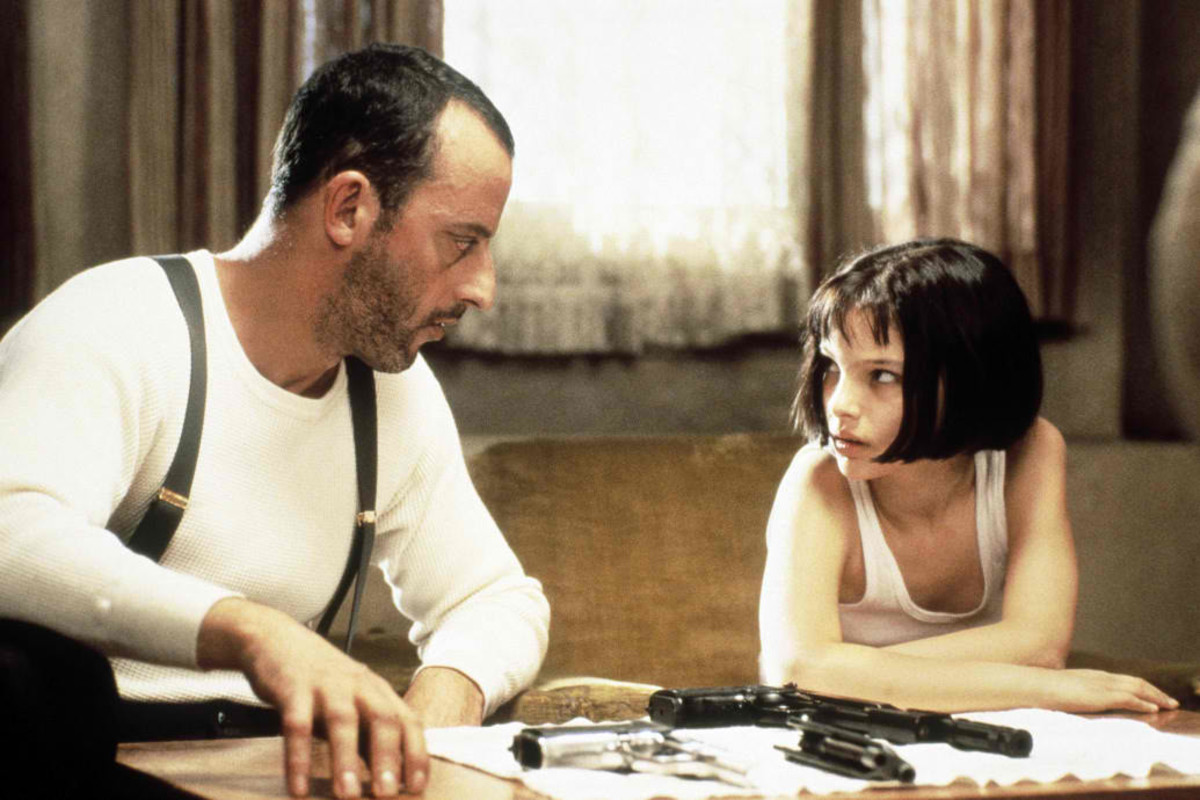 Natalie Portman starred opposite Jean Reno in The Professional (1994)