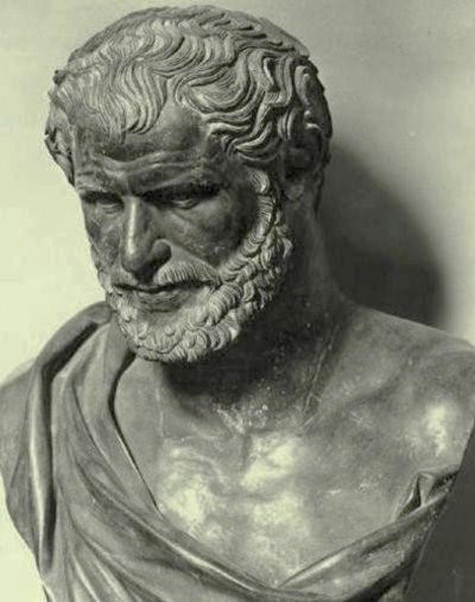 'Nothing exists but atoms and empty space.'            Democritus (460-370 BC).