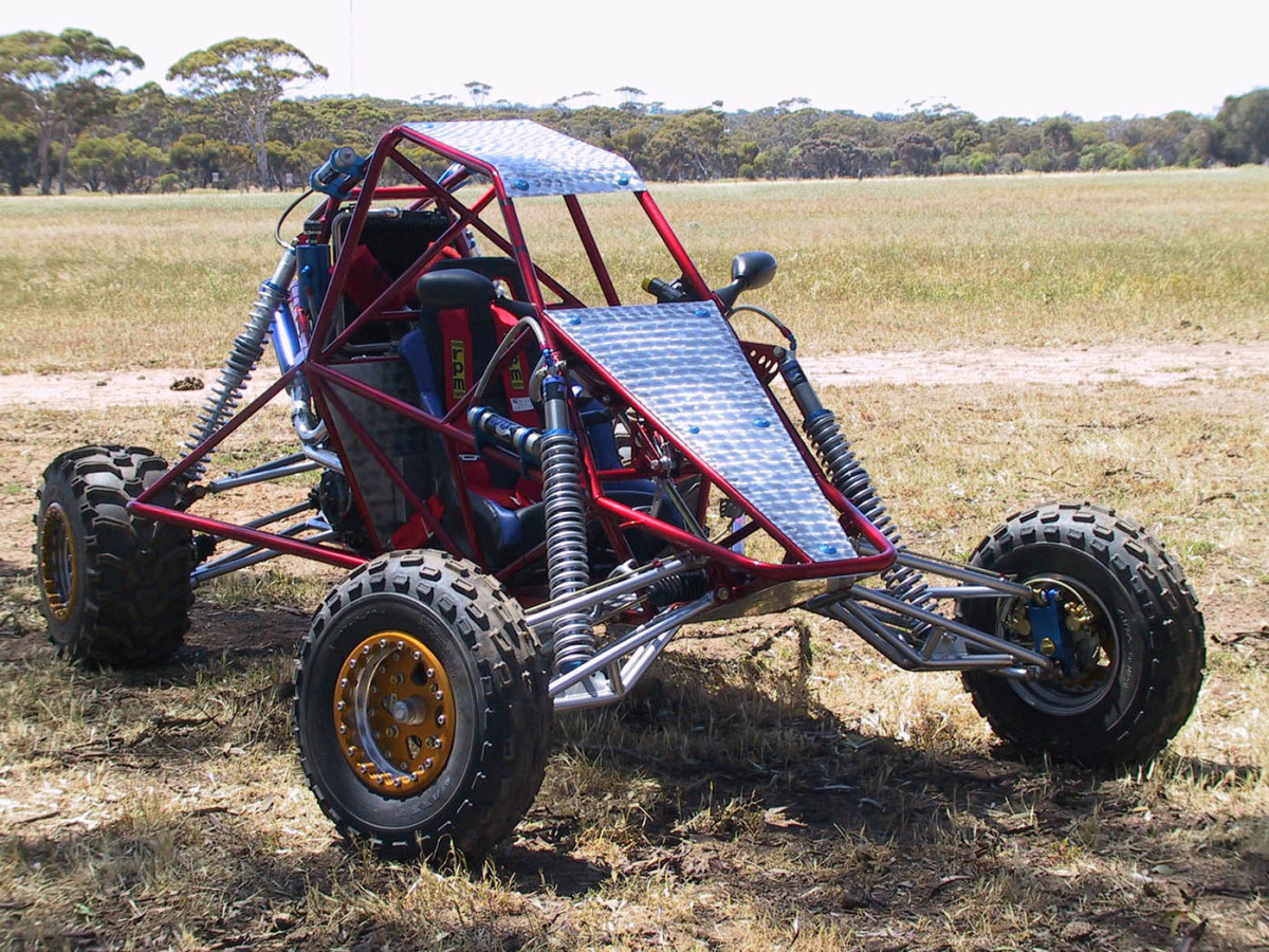Homemade Off Road Go Kart Barracuda, by edge buggies