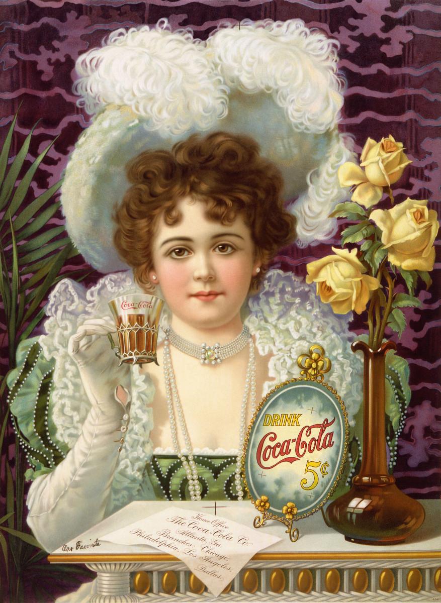 Wikimedia, Public Domain, Coca Cola Five Cents