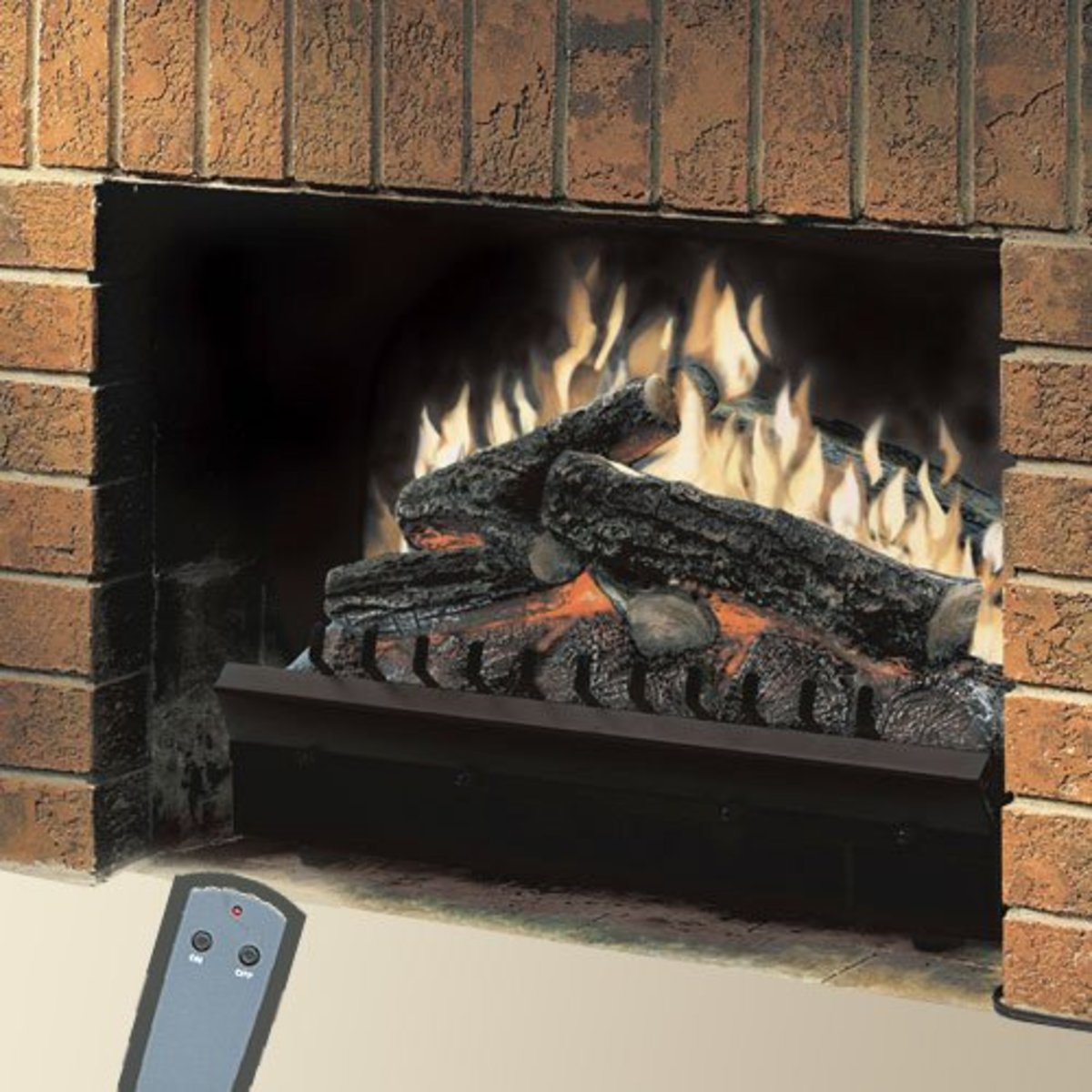 Electric inserts are not the same thing as vent-free gas fireplaces.  Read on to discover what differentiates one from the other.
