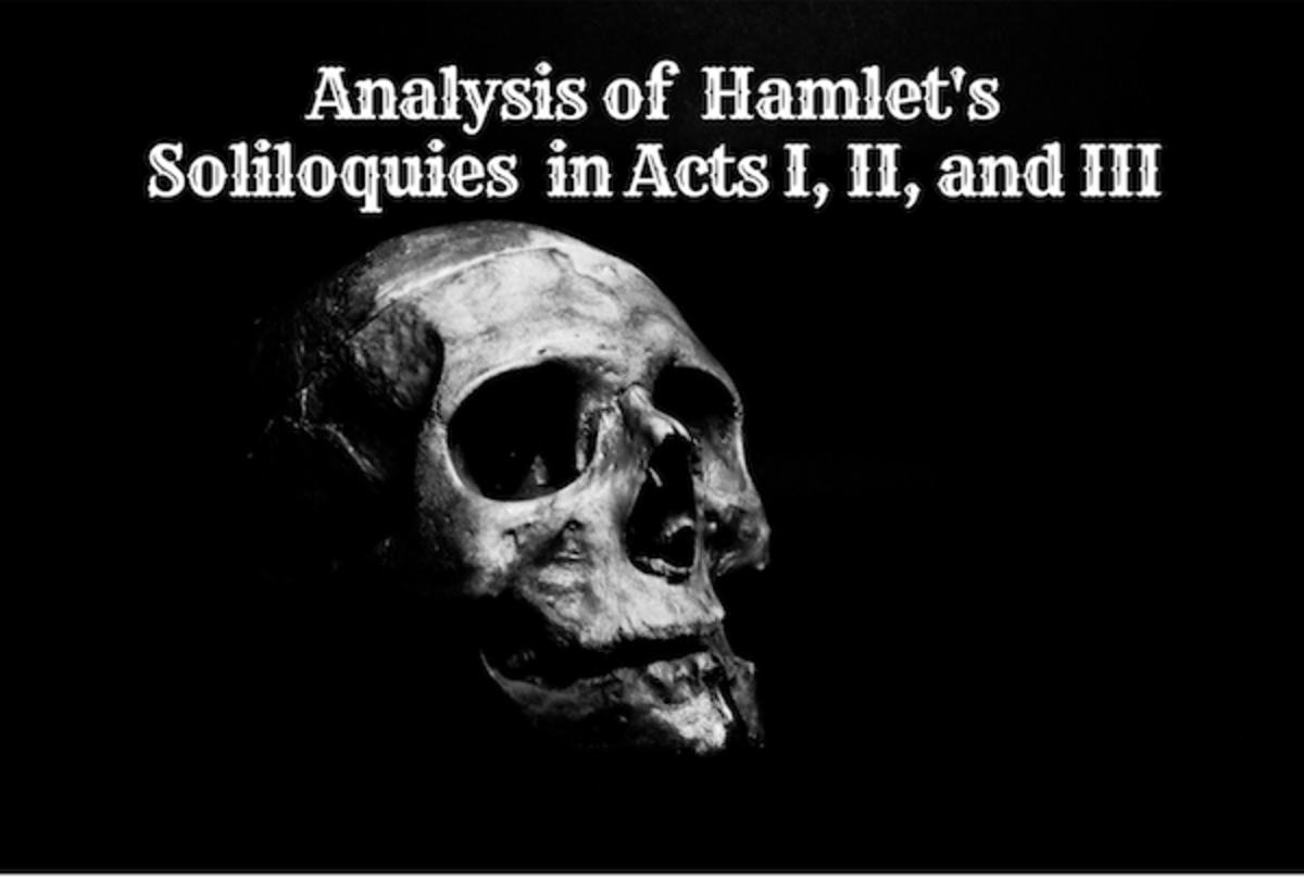 Analysis of Hamlet's Soliloquies in Acts I, II, and III