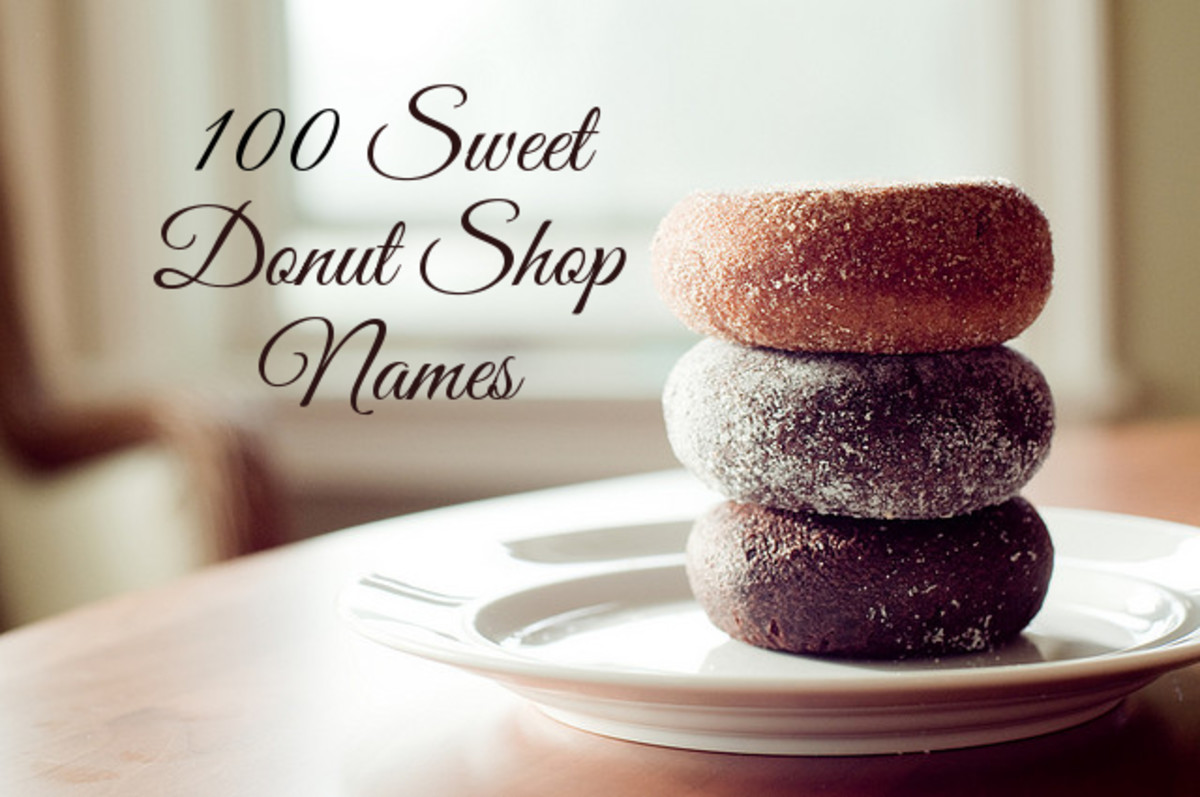 100 Sweet Donut Shop Names